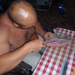 More Sting Ray Filleting