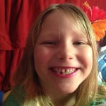 Lilah minus one tooth