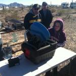 Lydia Using the Desert Fox Gold Wheel
