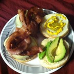 Gourmet Burgers w/ Bacon and Avacado