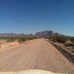 Driving In To Palm Canyon