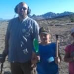 Family Detecting at a Quartzsite Metal Detecting Club claim, Arizona