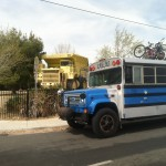 The Scholl Bus and a Borax Truck